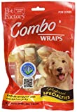Pet Factory Rawhide Twist Rolls Wrapped With
