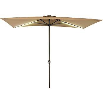 Amazon Com Patio Half Umbrella 8 With Black Umbrella