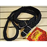 New Braided Poly Barrel Racing Contest Reins Flat W/easy Grip Knots 1 Inch X 8ft