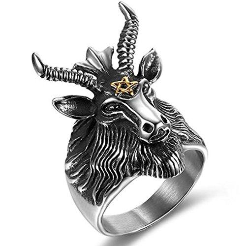 goat head ring - 3