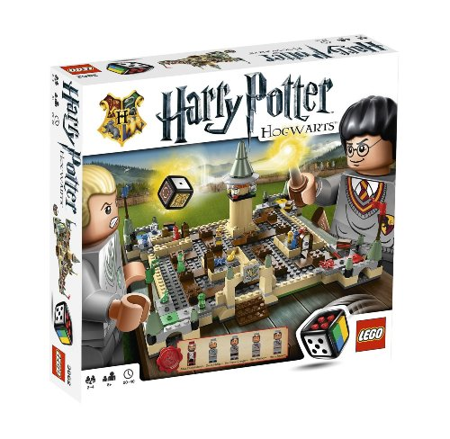 322 Pieces, Harry Potter Hogwarts Board Game for 2 to 4 Players (Harry Potter Board Game Lego)