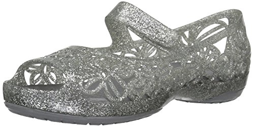 Crocs Kids Girls Isabella Glitter Jelly Flat | Pre School