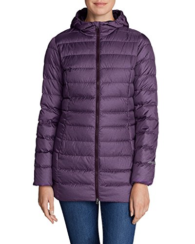 Eddie Bauer® Womens CirrusLite Down Parka (Dark Plum Heather, X-Large)