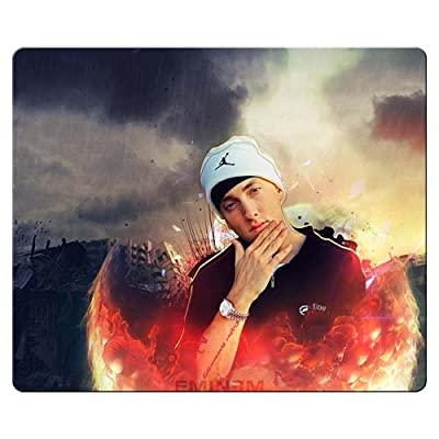 26x21cm 10x8inch Mouse Pads precise cloth natural rubber smooth surface Attractive Eminem