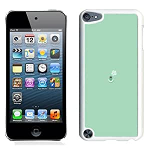 Fashionable Custom Designed iPod Touch 5 Phone Case With Simple Coffee Mug Flat Illustration_White Phone Case
