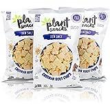 Plant Snacks Sea Salt Mix Cassava Root Chips, Vegan, Big-8 Allergen Free, Non-GMO Project Verified, Gluten Free, Grain Free, No Added Sugar, 5 oz Bags, Pack of 3