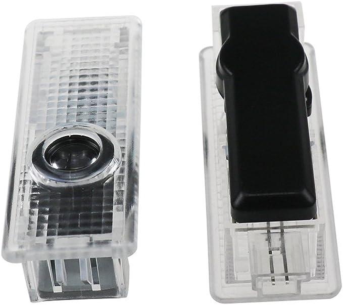 Lafurt 2 pezzi auto porta LED Logo Porta illuminazione lampada del proiettore di luce