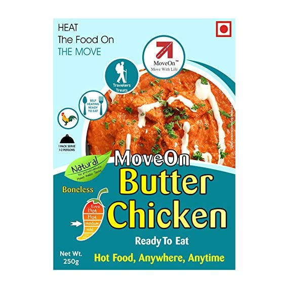 Move On Ready to Eat Instant Butter Chicken Boneless