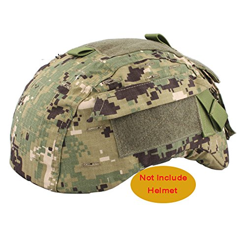 ATAIRSOFT Emerson Airsoft Tactical Helmet Cover for Military MICH 2001 Ver2/ACH Helmet (AOR2) (Airsoft Helmet Mich 2001)
