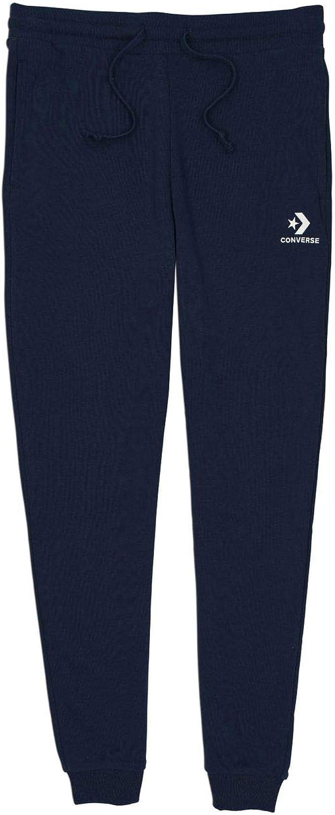 Converse 10008928 Pantaloni da uomo Star Chevron EMB, blu