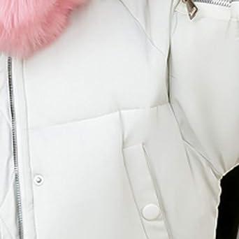Amazon.com: AOJIAN Women Jacket Long Sleeve Outwear Faux Fur Hooded Thick Warm Slim Overcoat Puffer Coat: Clothing