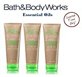 Cheap Bath and Body Works ALMOND & VANILLA Olive Oil Body Cream Lot of 3 Full Size