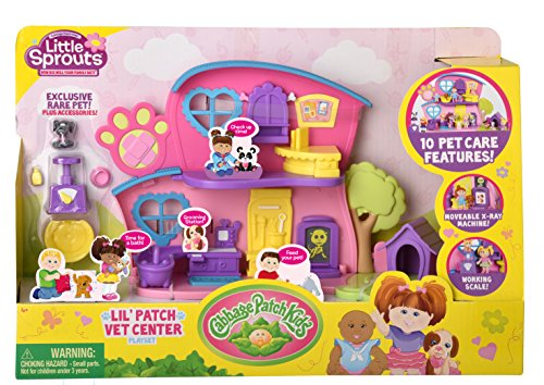 Cabbage Patch Kids Little Sprouts Lil' Vet Center Play (Little Sprout Collection)