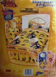 Lazy Town Lazytown Sportacus Yellow Duvet Cover and Pillow Case Pilowcase Set