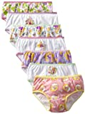 Disney Little Girls Tangled Seven-Pack Underwear