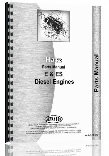 Hatz Engine - Hatz Engine Parts Manual (HA-P-E ES DSL)