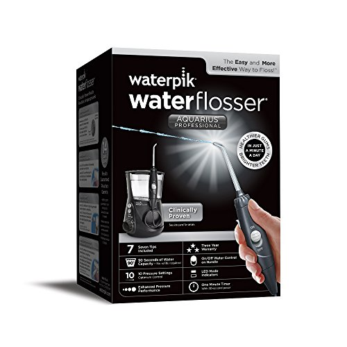 waterpik aquarius water flosser toothbrush ratings. Black Bedroom Furniture Sets. Home Design Ideas