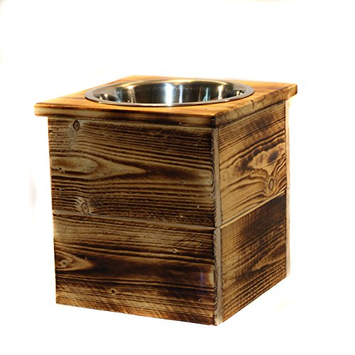 Bowl Bowls Tip (Single Large Elevated Dog Dish // Large Feeding Stand // Dog Dish // Elevated Dog Bowl)