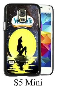 Best Sale Samsung Galaxy S5 Mini Case Little Mermaid Disney Cute Pretty Sea Art Space Sky Moon Black Fashionable Samsung Galaxy S5 Mini Custom Case