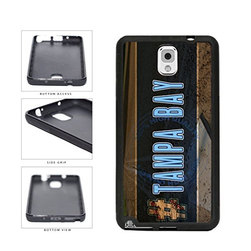 BleuReign(TM) Hashtag Tampa Bay #TampaBay Baseball Team TPU RUBBER SILICONE Phone Case Back Cover For Samsung Galaxy Note III 3
