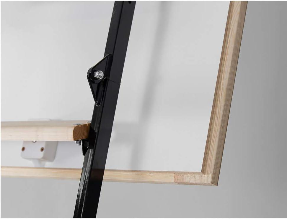 Bodentreppe MINI Thermo Speichertreppe 80x80 Holz Metallleiter
