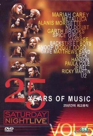 Saturday Night Live - 25 Years of Music - Vol 5 (Import, All Regions)
