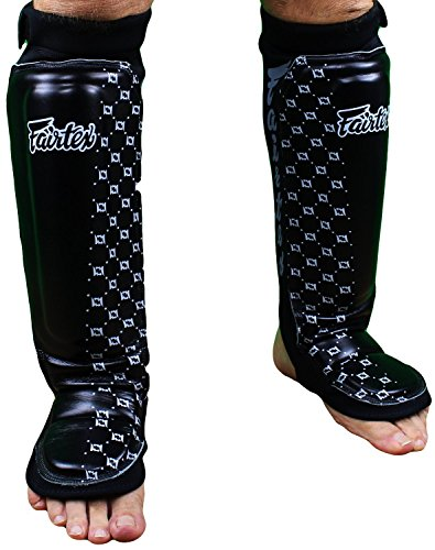 (Fairtex Muay Thai Boxing Shin Guard Protector Protection (SP6 Neoprene)