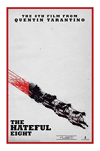 The Hateful Eight - Movie Poster / Print Teaser By Stop Online