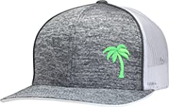 Simple and clean design for those that love the beach - whether it's playing in the sand, swimming in the ocean, out for some surfing, or just relaxing on a nice summer day with your favorite beverage. The embroidered logo is placed on a high...
