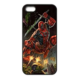 Deadpool iPhone 4 4s Cell Phone Case Black gift Q6547107