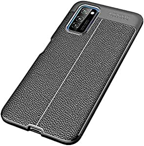 For Honor Honor View 30 / View 30 Pro Mobile Shell Soft TPU Litchi Pattern Leather All-Inclusive Drop Protection Case