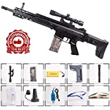 Anstoy Electric Toy Gun with Gel Ball Blaster Water for Outdoor Activities-Fighting Game as Awesome Birthday Present (Black)