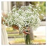 Buedvo 1 Head Artificial Gypsophila Flower Fake Silk Wedding Party Home Decor