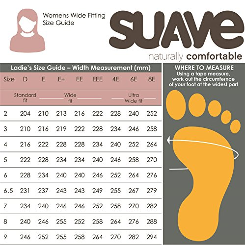 E Suave 'joan' Collars Deep Support Lightweight Box Women's Shoe With ee Fit Beige Padded Wide Toe Practical rwAIFxw