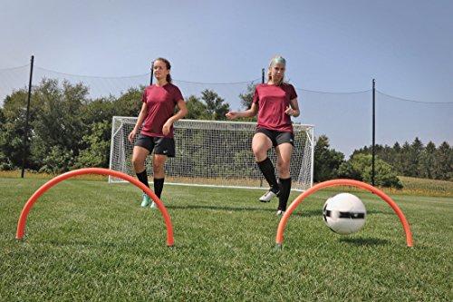 Kwik Goal, Ltd Training Arches (Set of 4) 14.5'' x 25'' Hi-Vis Orange by Kwik Goal