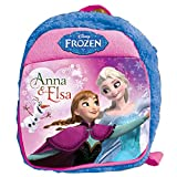 Frozen Plush Bag, Blue/Pink (12-inch)