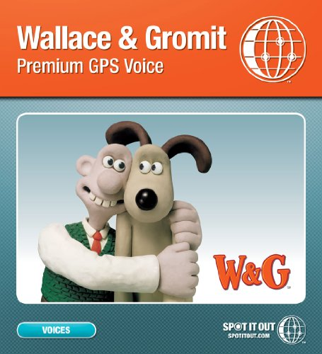 Wallace   Gromit Gps Voice For Garmin  Pc Only   Download