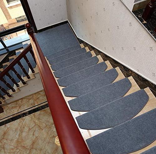Juego de 15 alfombrillas para escalera, color marrón: Amazon.es: Amazon.es