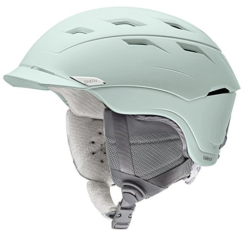 Smith Optics Valence Women's Ski Snowmobile Helmet - Matte Ice/Medium ()