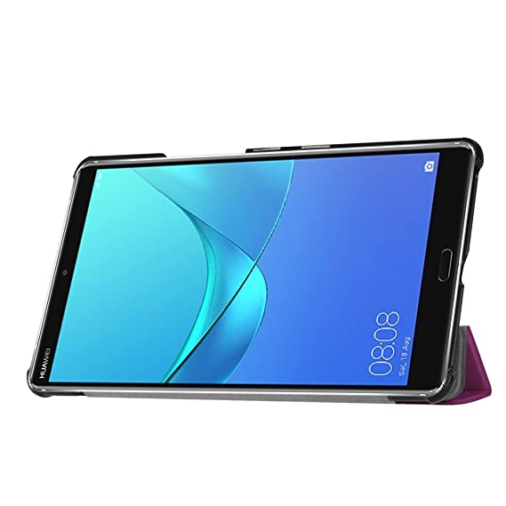 Funda Huawei MediaPad M5 , [Happon] Funda de Cuero Slim ...