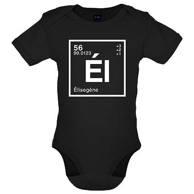 Élise - Élément Périodique - Bébé-Body - 7 Couleur - 0-18 mois