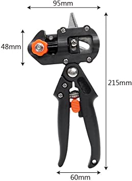 Alicates para máquina de grafiar, tijeras, herramientas para cortar árboles con 2 cuchillas de corte profesional: Amazon.es: Bricolaje y herramientas