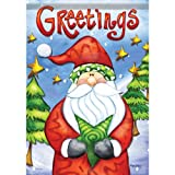 Large Size Flag, Greetings From Santa, 28 X 40 Inches Review