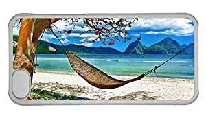 Hipster custom made iPhone 5C case Hammock Beach PC Transparent for Apple iPhone 5C