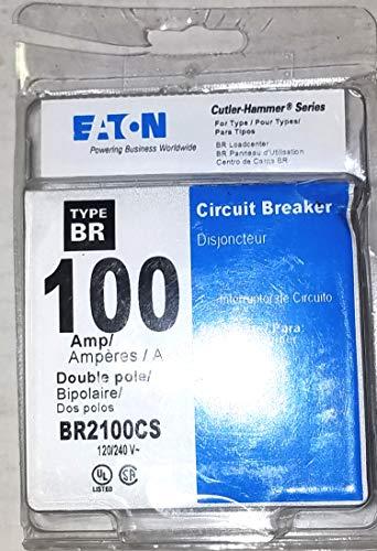 Eaton 100 Amp Double-Pole Type-BR Circuit Breaker