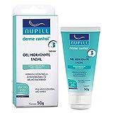 Gel Hidratante Facial Nupill Derme Control 50g, Nupill, Branco