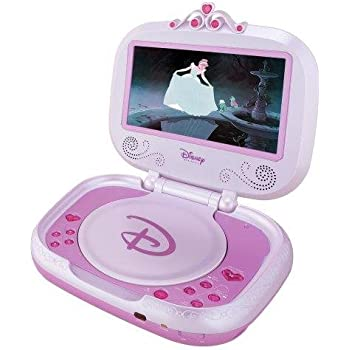 Disney P7100PD 7-Inch Portable DVD Player - Pink