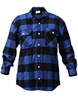 Rothco Heavy Weight Plaid Flannel Shirt