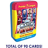 2017-18 TOPPS MATCH ATTAX PREMIER LEAGUE MEGA TIN ( 90 CARDS TOTAL+ LE GOLD CARD) LOOK FOR POGBA, KANE, IBRAHIMOVIC & MORE! DON'T CONFUSE WITH SMALLER 60 CARD TINS *SHIPS FROM USA*