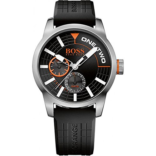 Hugo Boss Orange Silicone Mens Watch 1513305